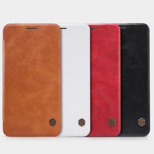 کیف محافظ چرمی نیلکین Nillkin Qin Leather Case For Asus Zenfone 2 ZE551ML