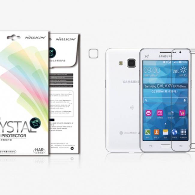 محافظ صفحه نمایش Nillkin Super Clear Anti- fingerprint Protective Film For Samsung Galaxy Grand Prime