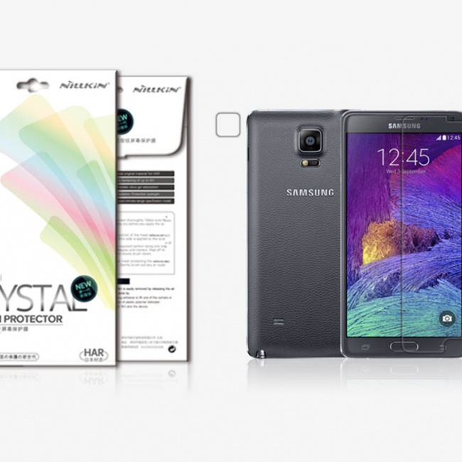 محافظ صفحه نمایش Nillkin Super Clear Anti-finger For Samsung GALAXY Note 4