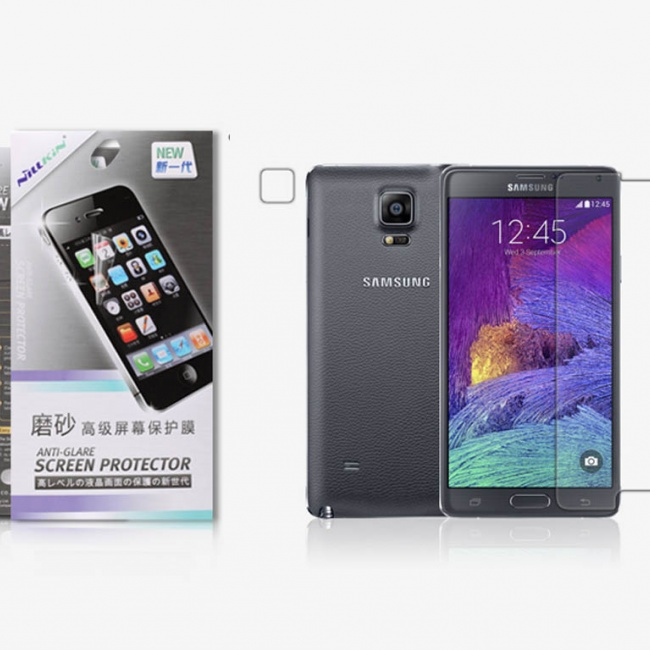 محافظ صفحه نمایش Nillkin Matte Protective Film For Samsung GALAXY Note 4