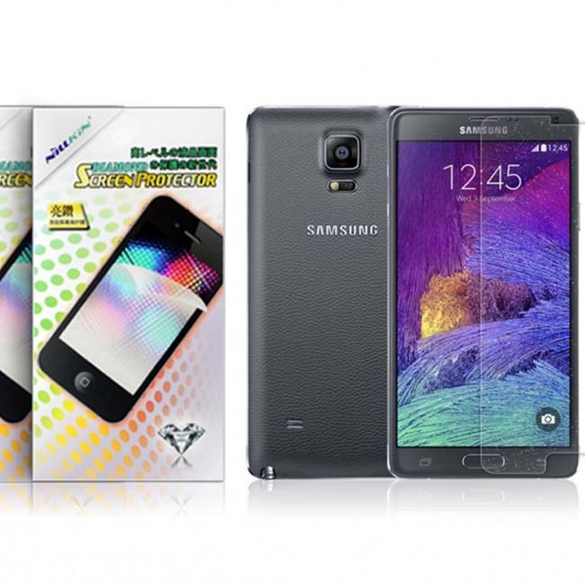 محافظ صفحه نمایش NILLKIN Bright Diamond Protective Film For Samsung GALAXY Note 4