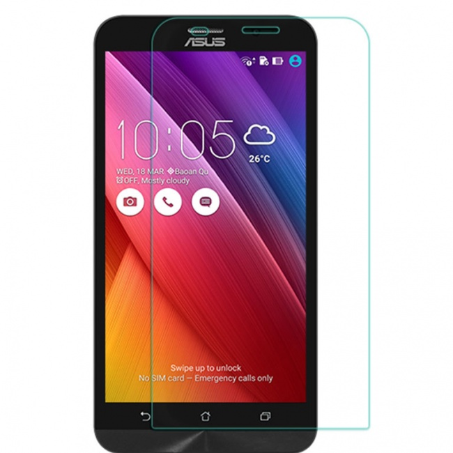 محافظ صفحه نمایش شیشه ای نیلکین Nillkin Amazing H+ Glass Screen Protector For Asus Zenfone 2 ZE551ML