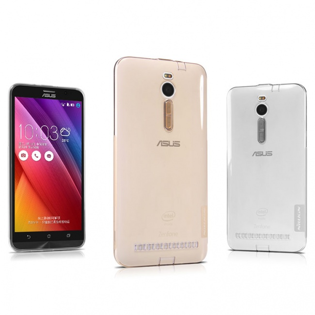 قاب محافظ ژله ای نیلکین Nillkin Nature TPU Case For Asus Zenfone 2 ZE550ML