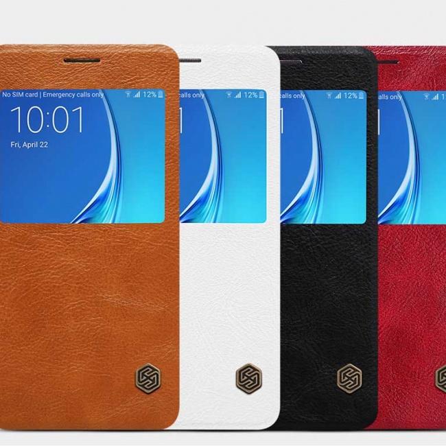 کیف محافظ نیلکین  Nillkin Qin leather case For Samsung(j5 2016) J5108