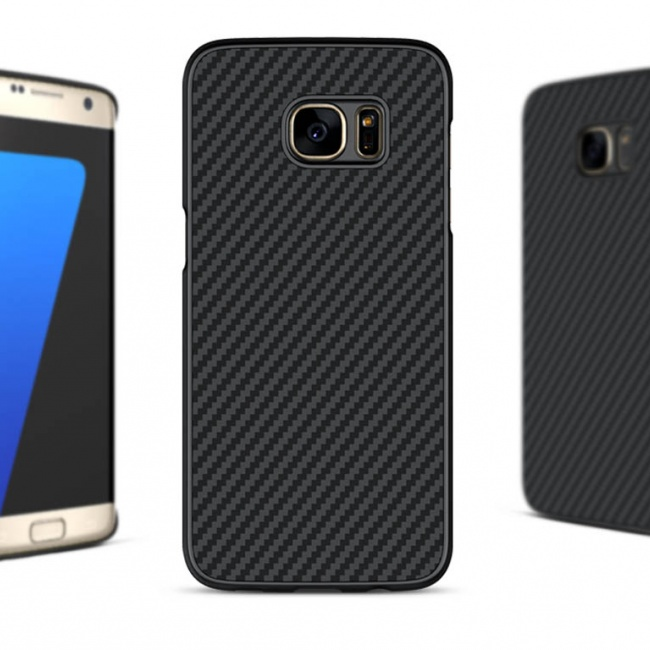 قاب محافظ نیلکین NILLKIN Synthetic fiber For Samsung Galaxy S7 Edge