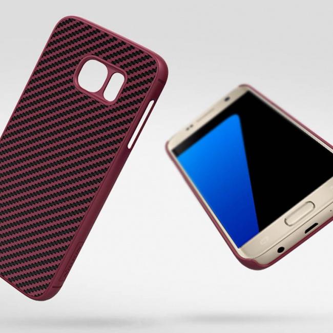 قاب محافظ نیلکین Nillkin Synthetic fiber For Samsung Galaxy S7