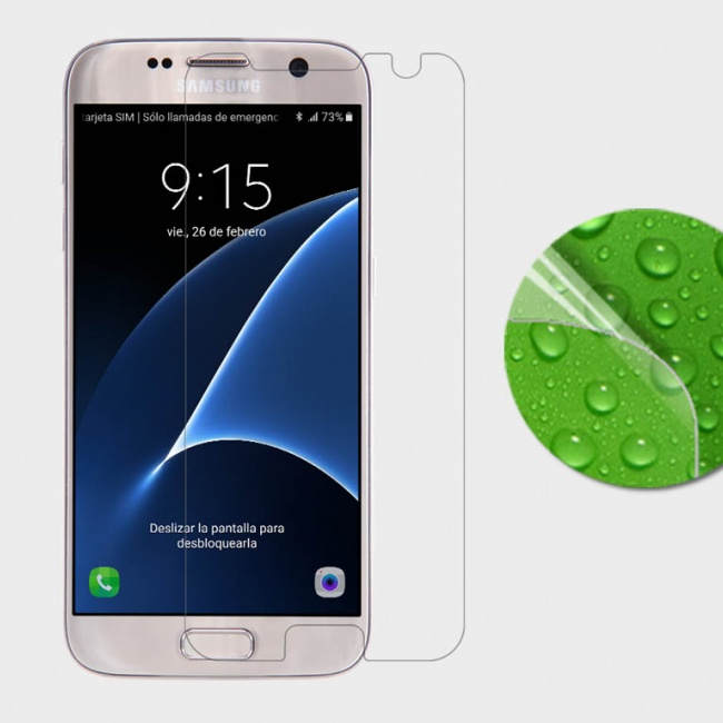 محافظ صفحه نمایش نیلکین Nillkin Super Clear Anti- fingerprint Protective Film For Samsung Galaxy S7