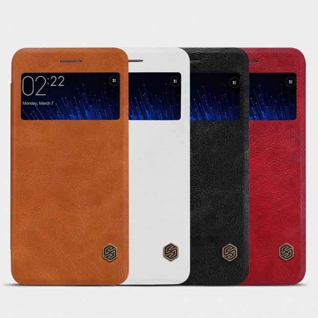 کیف محافظ چرمی نیلکین Nillkin Qin Leather Case For Xiaomi M5