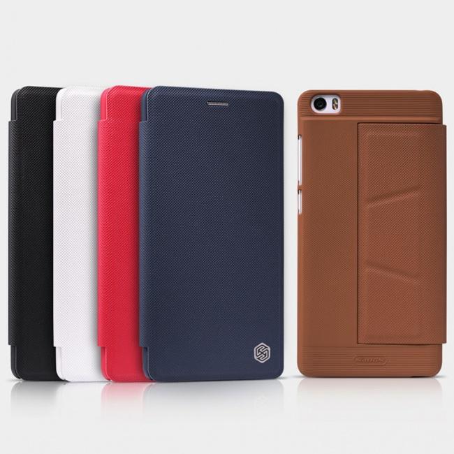 کیف محافظ چرمی نیلکین Nillkin Ming Leather Case For Xiaomi MI Note