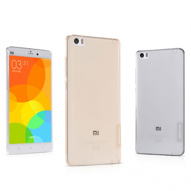 قاب محافظ ژله ای نیلکین Nillkin Nature TPU Case For Xiaomi MI Note