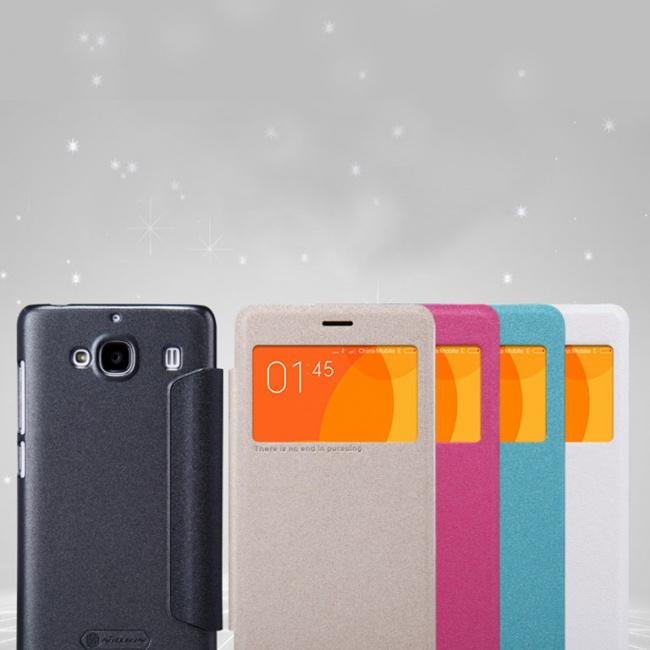 کیف محافظ چرمی نیلکین Nillkin Sparkle Leather Case For Xiaomi RedMi 2
