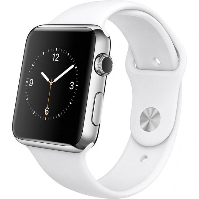 محافظ شفاف صفحه نمایش Apple Watch 42mm Super Clear Anti-fingerprint