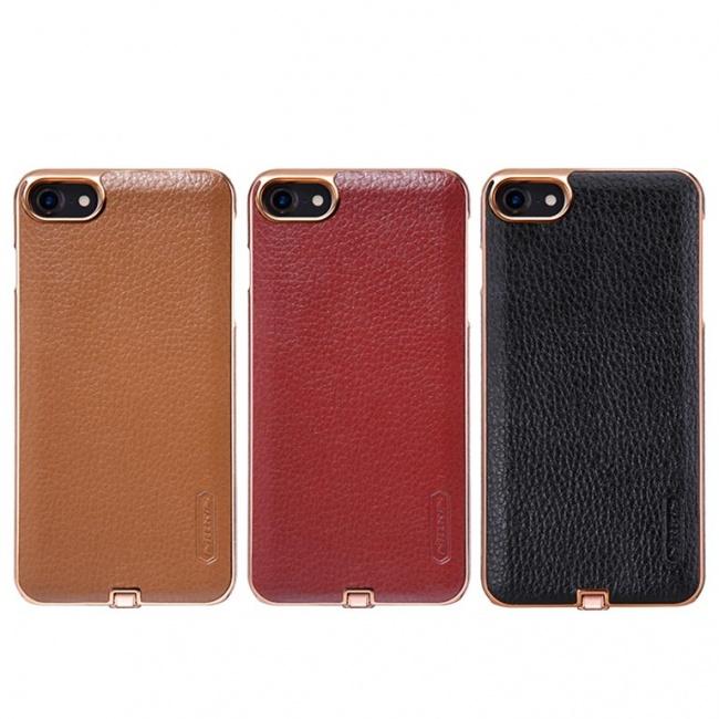 قاب محافظ چرمی نیلکین Nillkin N-JARL Wireless charging receiver For Apple iphone 7