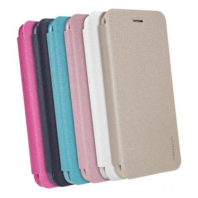 کیف محافظ چرمی نیلکین Nillkin Sparkle Leather Case For Apple iphone 7