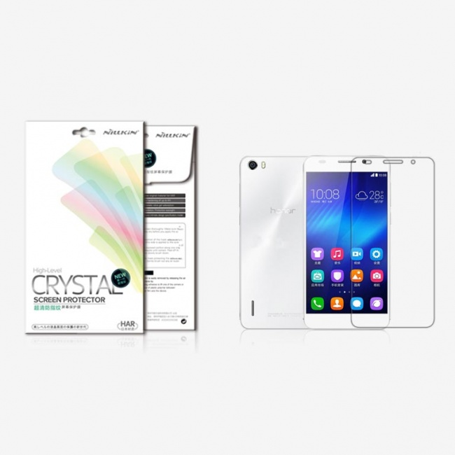 محافظ صفحه نمایش شفاف HUAWEI Honor 6 Super Clear Anti-fingerprint