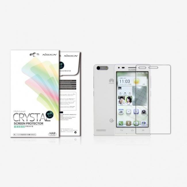 محافظ صفحه نمایش شفاف HUAWEI Ascend G6 Super Clear Anti-fingerprint