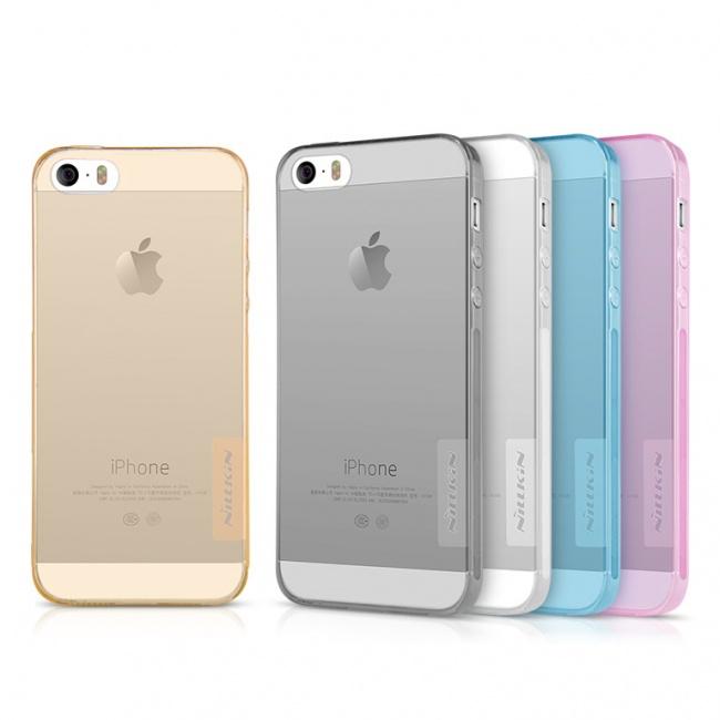 قاب محافظ ژله ای نیلکین آیفون Nillkin Nature TPU Case For iphone 5s