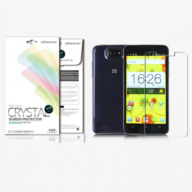 محافظ صفحه نمایش نیلکین Nillkin Super Clear Anti-fingerprint Protective Film For ZTE N5