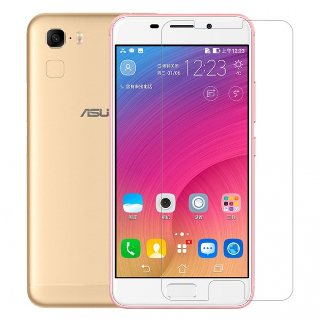محافظ صفحه نمایش شیشه ای نیلکین Nillkin Amazing H Glass Screen Protector For Asus Zenfone 3S Max ZC551TL
