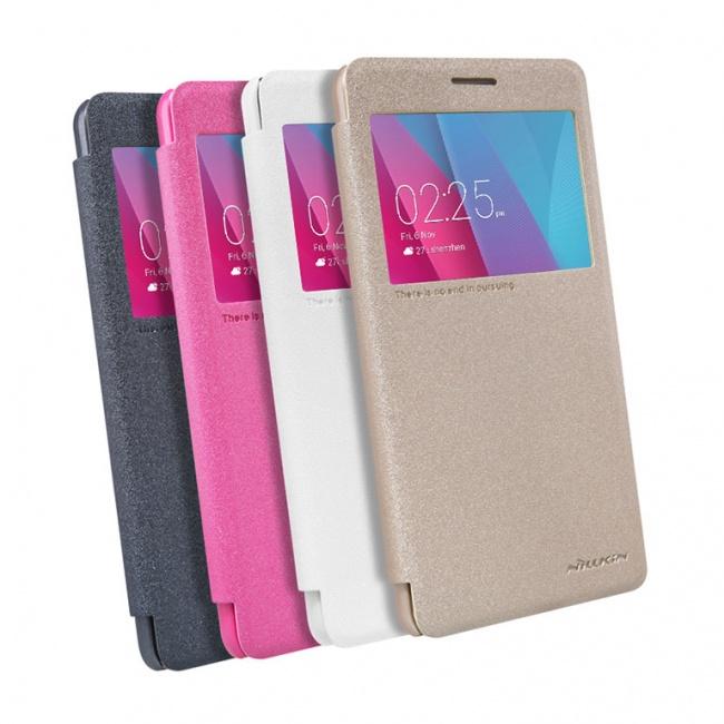 کیف محافظ چرمی نیلکین Nillkin Sparkle Leather Case For Huawei GR5