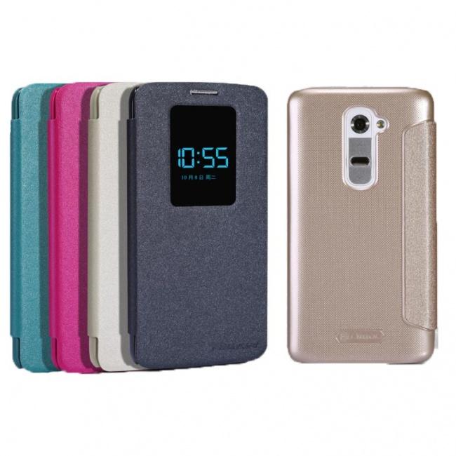 کیف محافظ LG G2 NEW LEATHER CASE- Sparkle