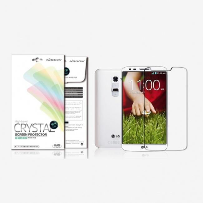 محافظ شفاف صفحه نمایش LG G2 Super Clear Anti-fingerprint