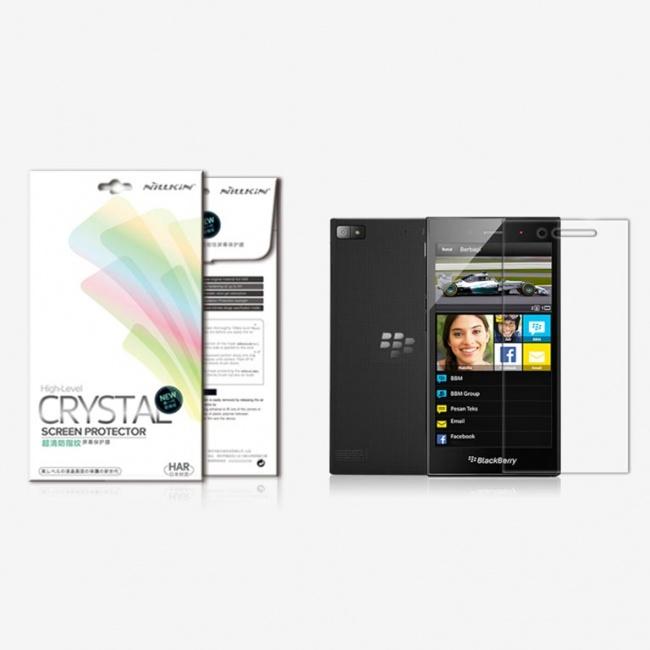 محافظ شفاف صفحه نمایش BlackBerry Z3 Super Clear Anti-fingerprint