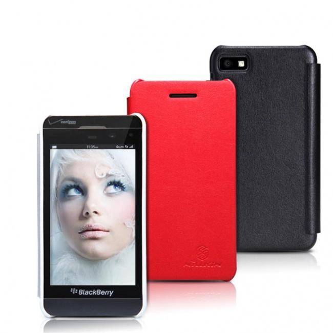 کیف محافظ BlackBerry Z10 Sparkle Leather Case