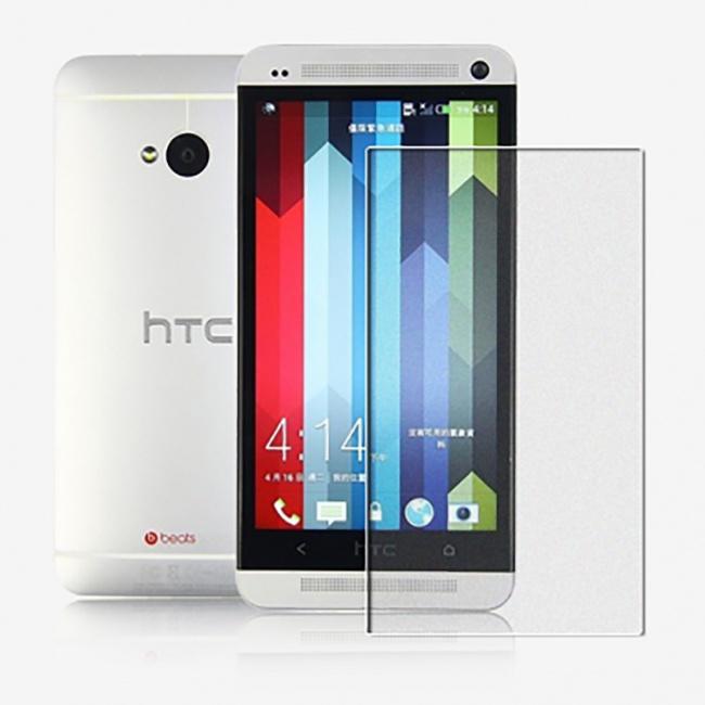 محافظ شفاف صفحه نمایش نیلکین HTC One Dual Sim Super Clear Anti-fingerprint
