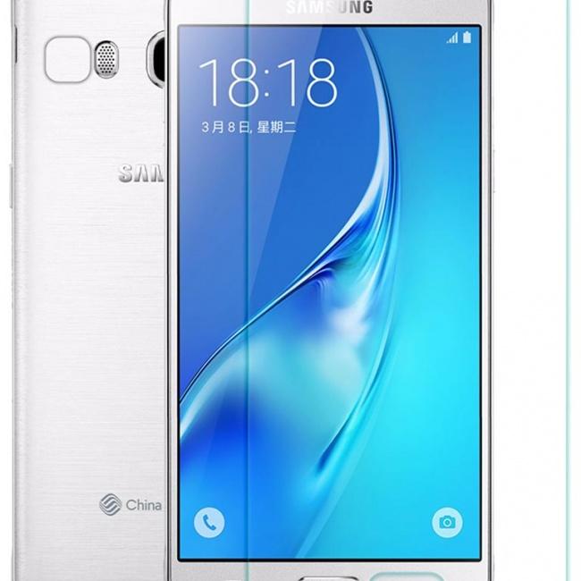 محافظ صفحه نمایش شیشه ای نیلکین Samsung J5108 H Anti-Explosion Glass