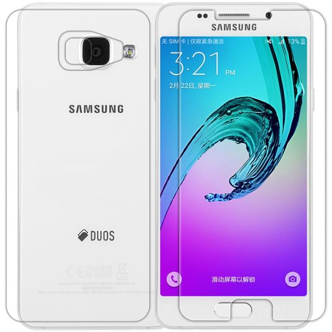 محافظ صفحه نمایش شیشه ای نیلکین Samsung A3100 H Anti-Explosion Glass