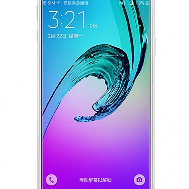 محافظ صفحه نمایش شفاف نیلکین Samsung A3100 Super Clear Anti-fingerprint