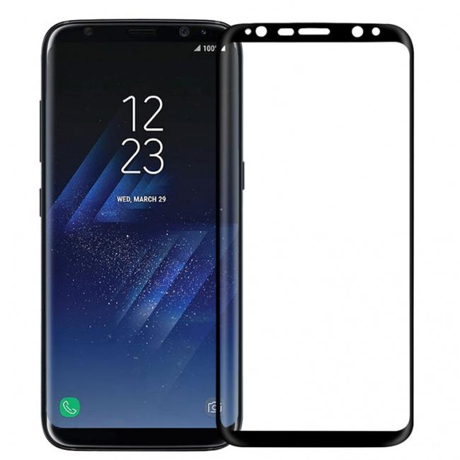 محافظ صفحه نمایش گلس نیلکین Nillkin 3D CP+ MAX Full Coverage Glass Screen Protector For Samsung Galaxy S8 Plus