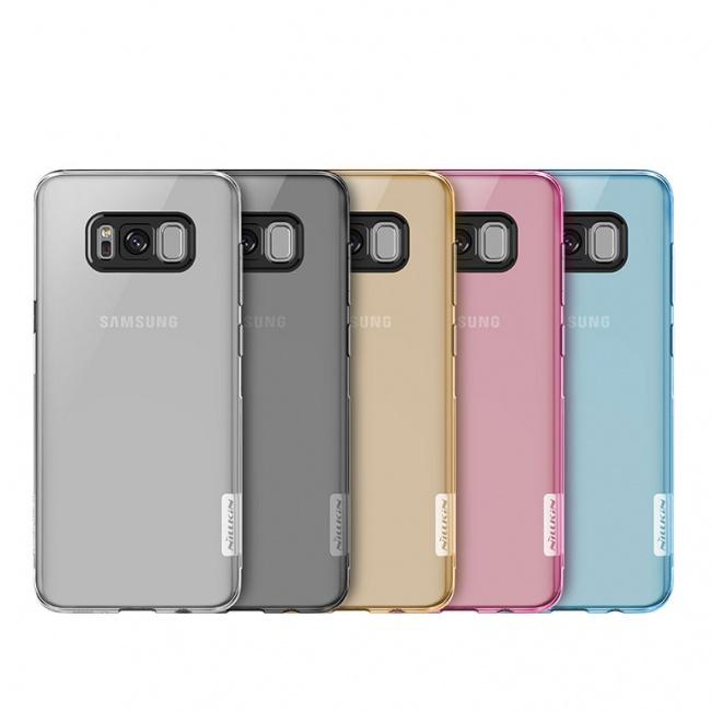 قاب محافظ ژله ای نیلکین Nillkin Nature TPU Case For Samsung Galaxy S8