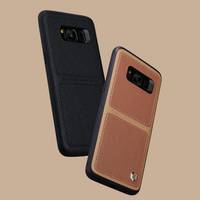 قاب محافظ چرمی نیلکین Nillkin Burt Case For Samsung Galaxy S8 Plus