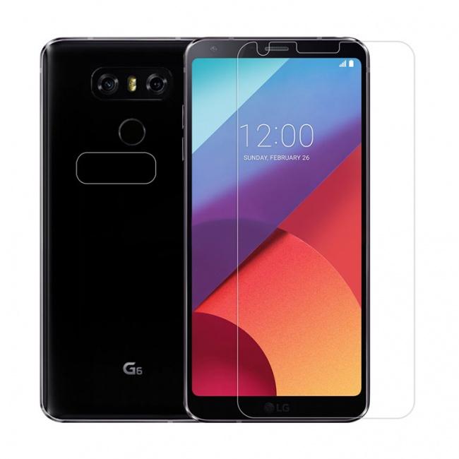 محافظ صفحه نمایش شفاف نیلکین Nillkin Super Clear Screen Protector For LG G6