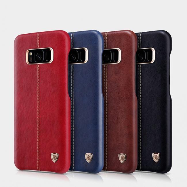 قاب محافظ چرمی نیلکین Nillkin Englon Leather Case For Samsung S8