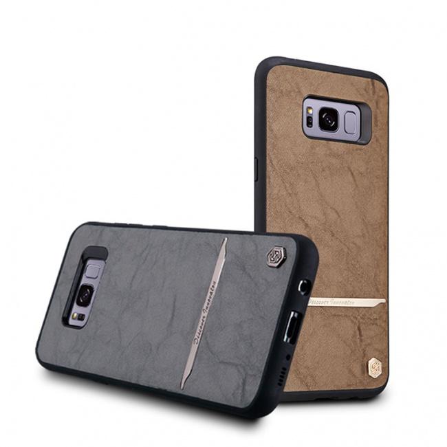 قاب محافظ چرمی نیلکین Nillkin Mercier Case For Samsung Galaxy S8 Plus