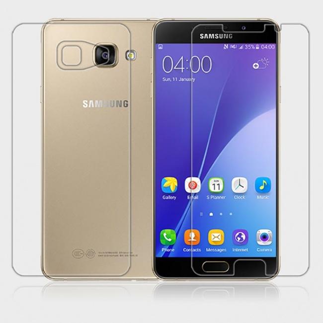 محافظ شفاف صفحه نمایش نیلکین Samsung A7100 Super Clear Anti-fingerprint