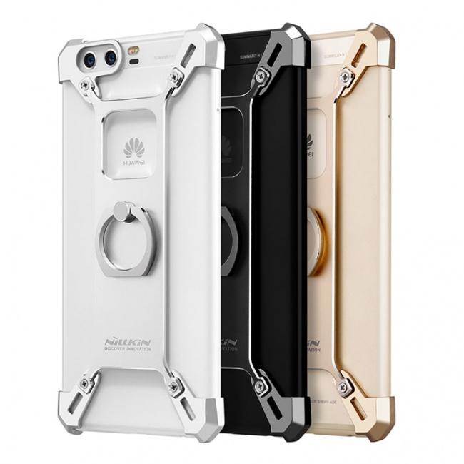 بامپر فلزی نیلکین Nillkin Brade Metal Case With Ring For Huawei P10 Plus
