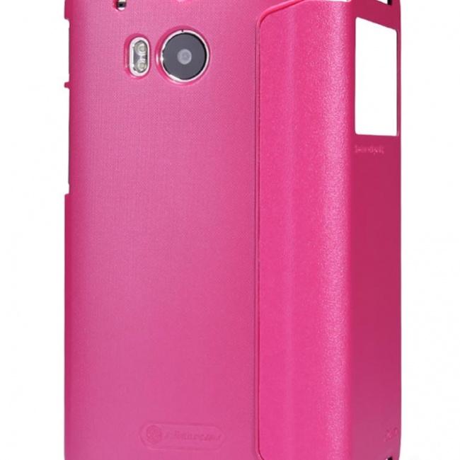 کیف محافظ نیلکین HTC One M8 Sparkle Leather Case