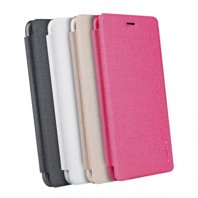کیف محافظ چرمی نیلکین Nillkin Sparkle Leather Case For Huawei P10 Lite
