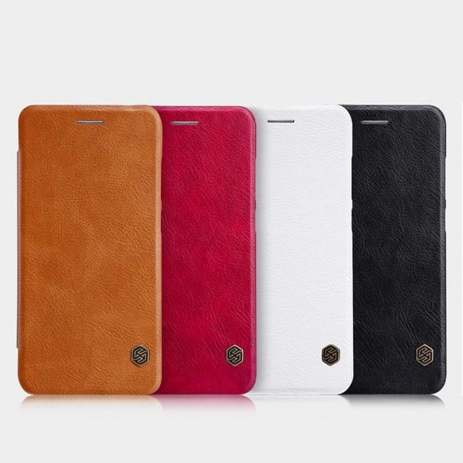 کیف محافظ چرمی نیلکین Nillkin Qin Leather Case For Huawei P10 Lite