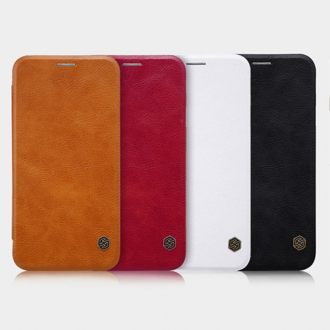 کیف محافظ چرمی نیلکین Nillkin Qin Leather Case For Samsung Galaxy J5 2017