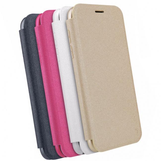 کیف محافظ چرمی نیلکین Nillkin Sparkle Leather Case For Samsung Galaxy J5 2017
