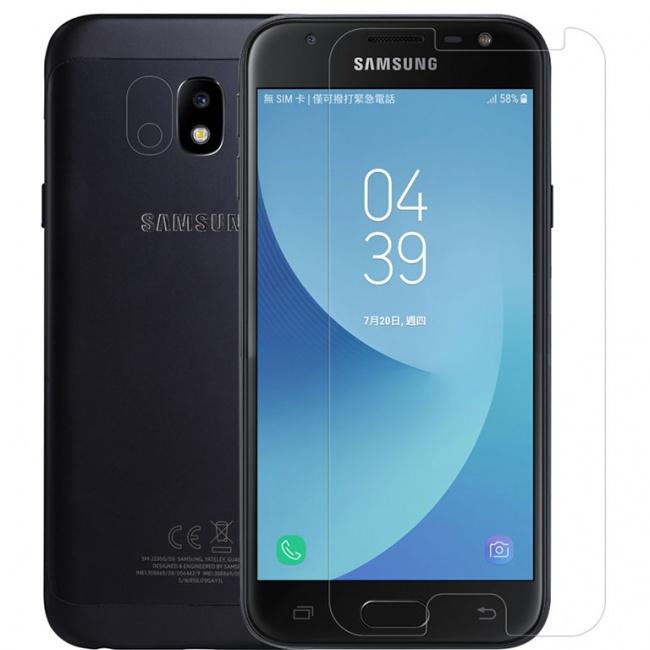 محافظ صفحه نمایش گلس نیلکین Nillkin Amazing H Glass Screen Protector For Samsung Galaxy J3 2017