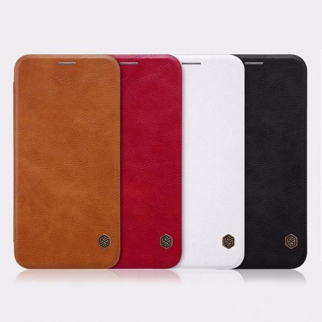 کیف محافظ چرمی نیلکین Nillkin Qin Leather Case For Samsung Galaxy J3 2017