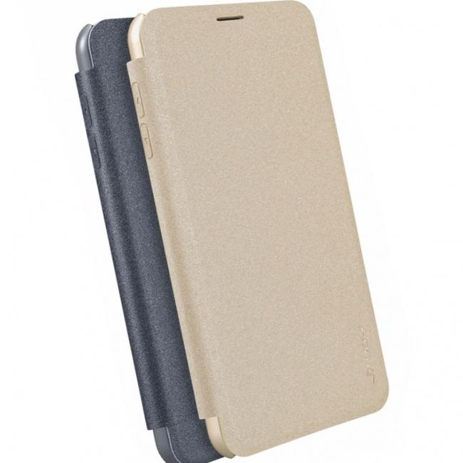 کیف محافظ چرمی نیلکین Nillkin Sparkle Leather Case For Samsung Galaxy J7 Plus
