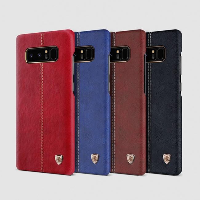 قاب محافظ چرمی نیلکین Nillkin Englon Leather Case For Samsung Galaxy Note 8
