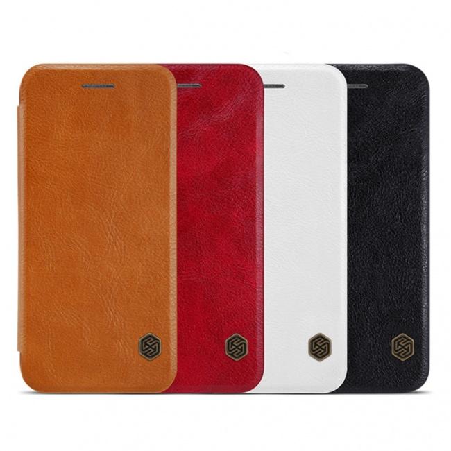 کیف محافظ چرمی نیلکین Nillkin Qin Leather Case For Apple iPhone 8